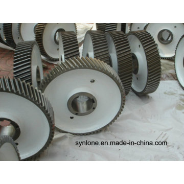 Engranaje recto de transmisión de forja en caliente
