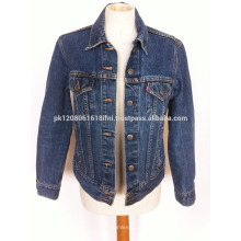 Blue Colour With Fleece And Custom Men Jean Jacket wholesale