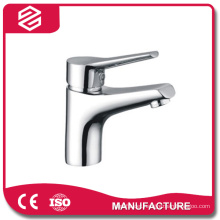 wash simple chrome basin faucet