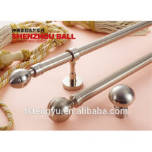 Fancy curtain rod finials polished brass curtain rods in dubai