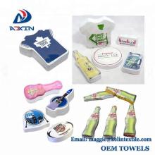 China Factory custom 30x30cm, 30x60cm super magic towels press towels