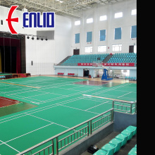 Indoor Badminton Rolls Floor con BWF