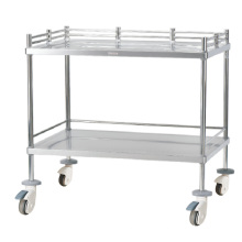 Hospital Stainless Steel Instrument Trolley
