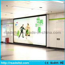 Caja de luz LED de publicidad de tela al aire libre