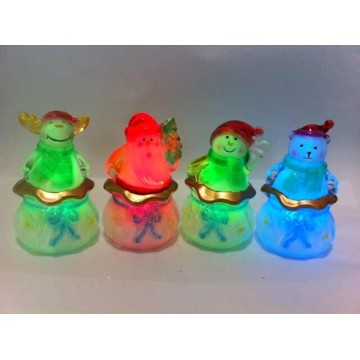 Mini Christmas table lamp Santa Snowman and reindeer lamp