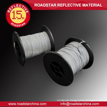 Visible at night eco-friendly PE reflector yarn