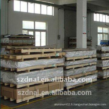 Application du corps de camion 5052 Fabricant de feuilles d'aluminium H32