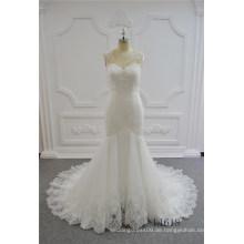 Neueste Sexy Hochzeit Meerjungfrau Kleid 2017 Spitze Brautkleider