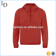 Soft material high quality fitness jacket men with hood fashion jacket