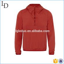 Мягкий материал высокого качества фитнес-мужчин куртка с капюшоном мода куртка