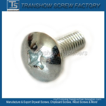 Mild Steel Galvanized Cross Recess Pan Head Screw