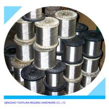 Cuerda de alambre de acero galvanizado (DIN; BS; MIL)