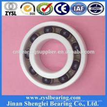 Tamanho 6mm rodas de skate rolamentos de esferas de cerâmica rolamento 6001