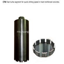 Diamond Core Bit (Turbo Segment)