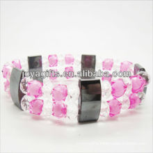 01B5006/new products for 2013/hematite spacer bracelet jewelry/hematite bangle/magnetic hematite health bracelets