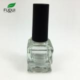customized square shape 7ml nail polish bottle empty