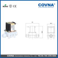Plástico 12V Pequeña válvula de solenoide de la máquina de consumición