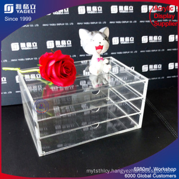 Wholesale Acrylic Drawer Custom Made for Makeup