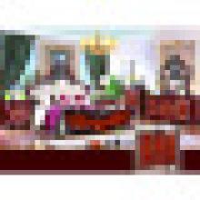 Wohnmöbel mit Kingsize-Bett und Kleiderschrank und Schrank (W811B)