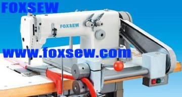High Speed Double Needle Chain Stitch Folding Machine