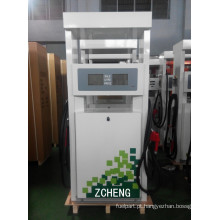 Zcheng Green Colour Fuel Dispenser Estação de Gasolina Double Pump