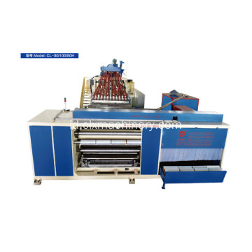 Output Tinggi PE Casting Stretch Film Machine