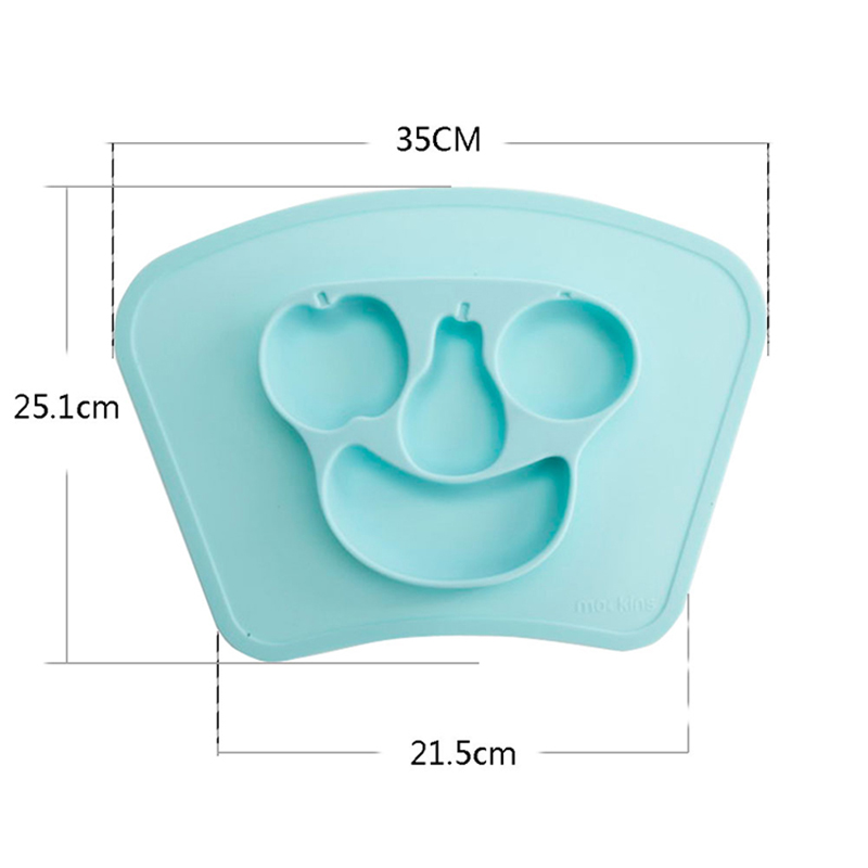 silicone food serving placemats