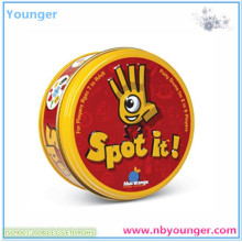 Spot It Paper Cards Game