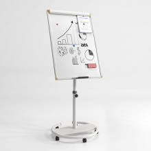 Mobile White Board Flip Chart Easel in Office