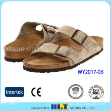 New Footwear Suede Flip Flop Slippers
