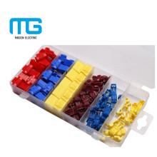 Tipos diferentes coloridos de kits de sortimento terminal por montagem conveniente