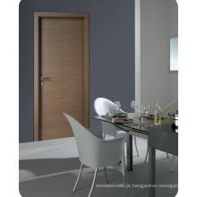 Porta de entrada folheada projetada Deisgn home moderna para a sala de visitas