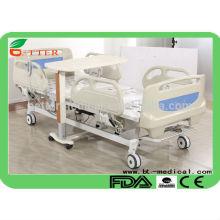 5 функциональная электрическая больничная койка с центральной тормозной системой