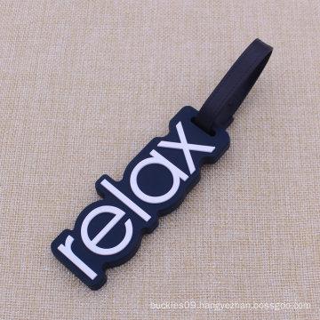 Custom Relax Shape Soft PVC Luggage Tag