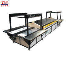 JY-S03 best price double-sided PVC Zipper Making Machine