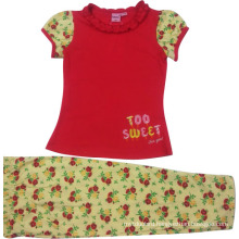 Summer Kids Baby Girl Suit in Children Clothing