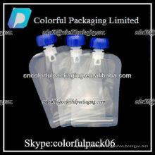 Bolsa para comida de bebê / bocal de saco / sacos para embalagem de plástico