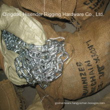 Medium Link Chain, Galvanized, Ss316, Ss304, Short Linik Chain, Packing with Gunny Bag and Pallet