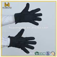 High quality hand sewing sheep shearing suede leather gloves with cheap price,mens double face winter working leather gloves
