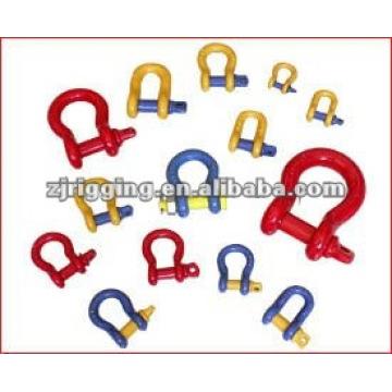 arco ajustável âncora manilha curva