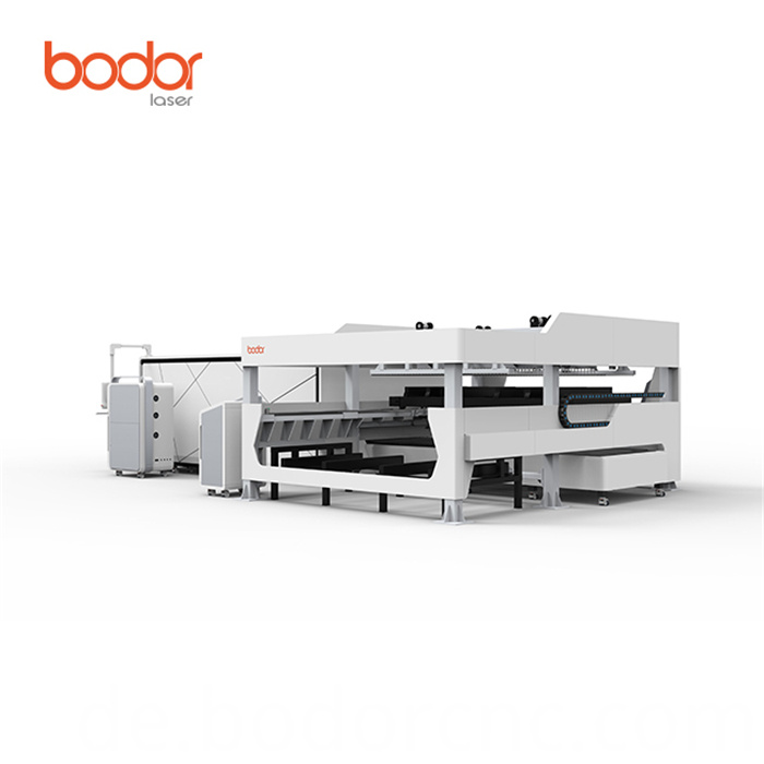 Silver laser cutting machine