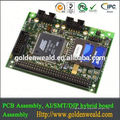 PCB assembly SMT y DIP LED light controller con switchman ambar 2.0b pcba