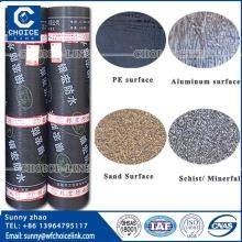 3mm 4mm APP modified bitumen underground waterproof membrane