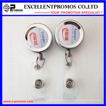Vente en gros de bobines de badge avec carte d'identité rétractable avec logo Epoxy (EP-BH112-118)