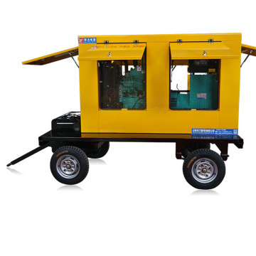 Mobile Diesel Generator Set Trailer Power Station
