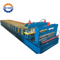 High Efficiency PPGI Glazed Roof Machine Botou