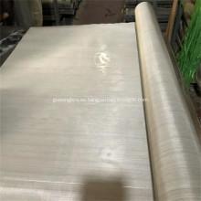 Tela de malla de alambre de acero inoxidable de malla 100 304