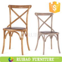 2016Modern Best Quality Vintage Wood Chair with Rush Seat