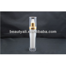 15ml 30ml 60ml 120ml Round cosmetic acrylic pump bottle