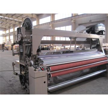 Dobby de tecelagem da tela da fibra de China Qingdao que derrama a máquina do tear do jato de água